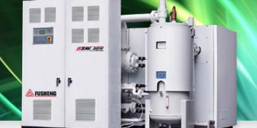 Fusheng uses IoT air compressors to cut downtime and wastage