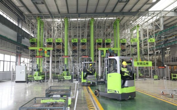 Inside Zoomlion's tower crane smart factory in Changde, China. PHOTO from Zoomlion