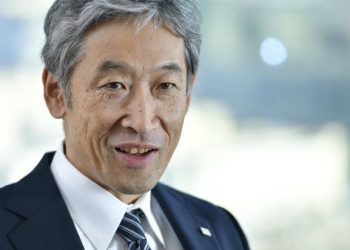 Toshiba's Chief Technology Officer Dr. Shiro Saito. PHOTO from Toshiba Corporation