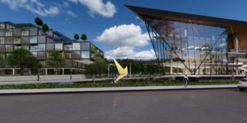 Digital Park Thailand artist impression (Photo from DEPA)