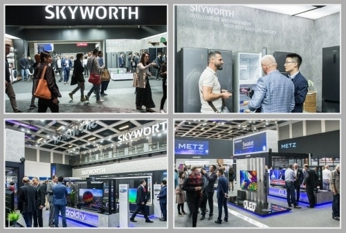 SKYWORTH at IFA 2019 (PRNewsfoto/SKYWORTH)