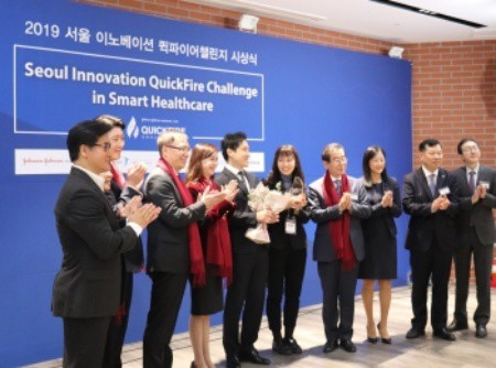 The Seoul Innovation QuickFire Challenge in Smart Healthcare yesterday awarded the winners.