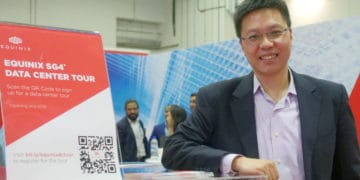 Eric Hui, director of IoT business development at Equinix Asia-Pacific