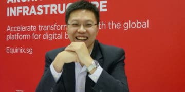 ric Hui, director of IoT business development at Equinix Asia-Pacific