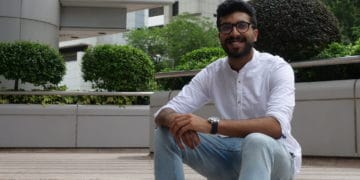 Rahul Nambiar, co-founder of Singapore-based robotics start-up Botsync