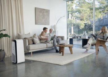 Blueair HealthProtect™ Air Purifier in Living Room