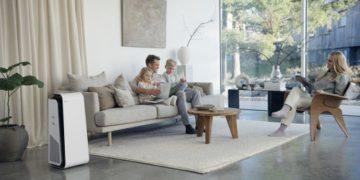 Blueair HealthProtect™ Air Purifier in Living Room