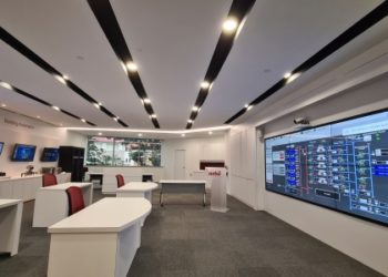 Azbil showroom in Singapore