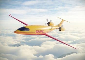 DHL Express orders 12 fully electric Alice eCargo planes from Eviation