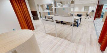 Cushman & Wakefield Japan creates a 3D virtualisation of an office using Matterport technology.