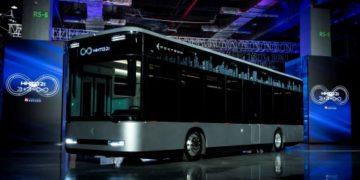 Foxconn's EV bus prototype